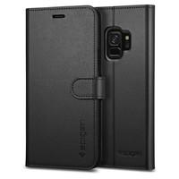 thumb-Spigen Wallet S for Galaxy S9 black-1