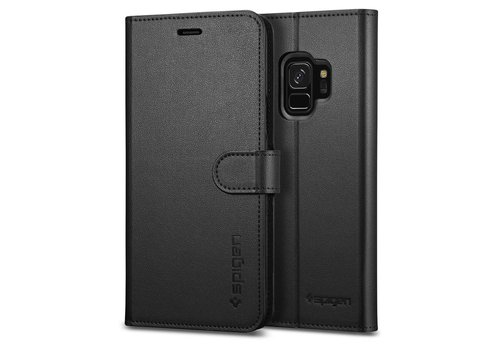 Spigen Wallet S for Galaxy S9 black