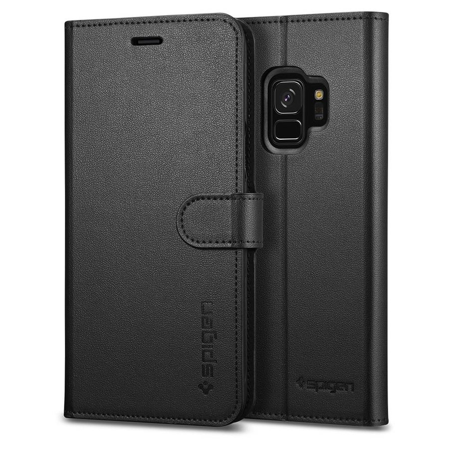 Spigen Wallet S for Galaxy S9 black-1