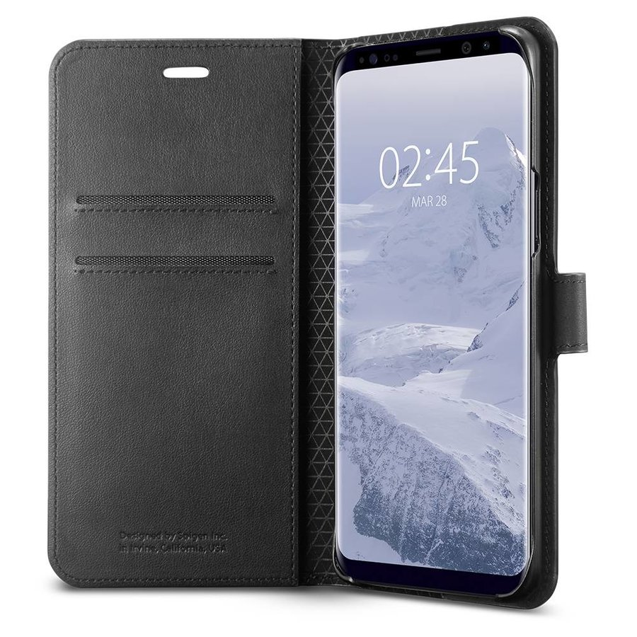 Spigen Wallet S for Galaxy S9 black-2