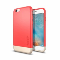 thumb-Spigen Style Armor Italian for iPhone 6/6s rose gold col.-1