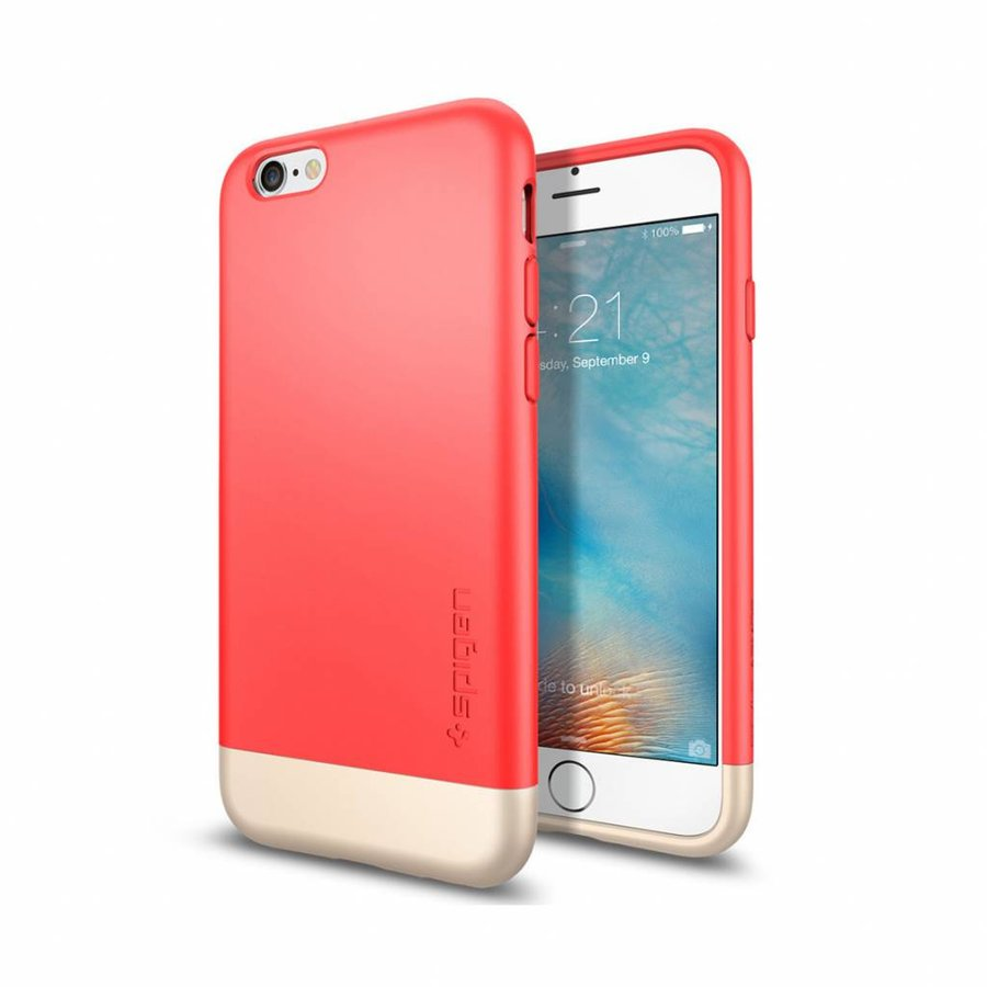 Spigen Style Armor Italian for iPhone 6/6s rose gold col.-1