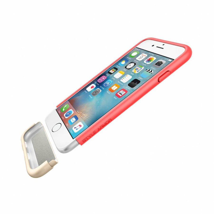 Spigen Style Armor Italian for iPhone 6/6s rose gold col.-4