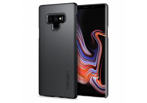 Spigen Thin Fit for Galaxy Note 9 Graphite Gray