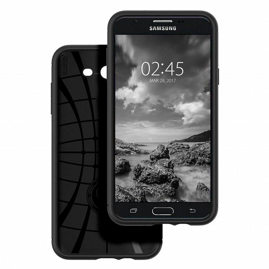 Spigen Rugged Armor  for Galaxy J7 (2017) black-5
