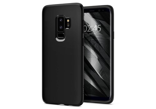Spigen Liquid Crystal for Galaxy S9+ matt black