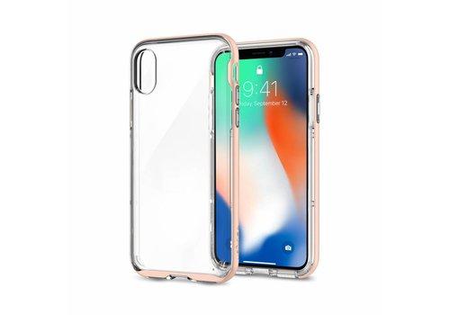 Spigen Neo Hybrid Crystal for iPhone X Rose Gold