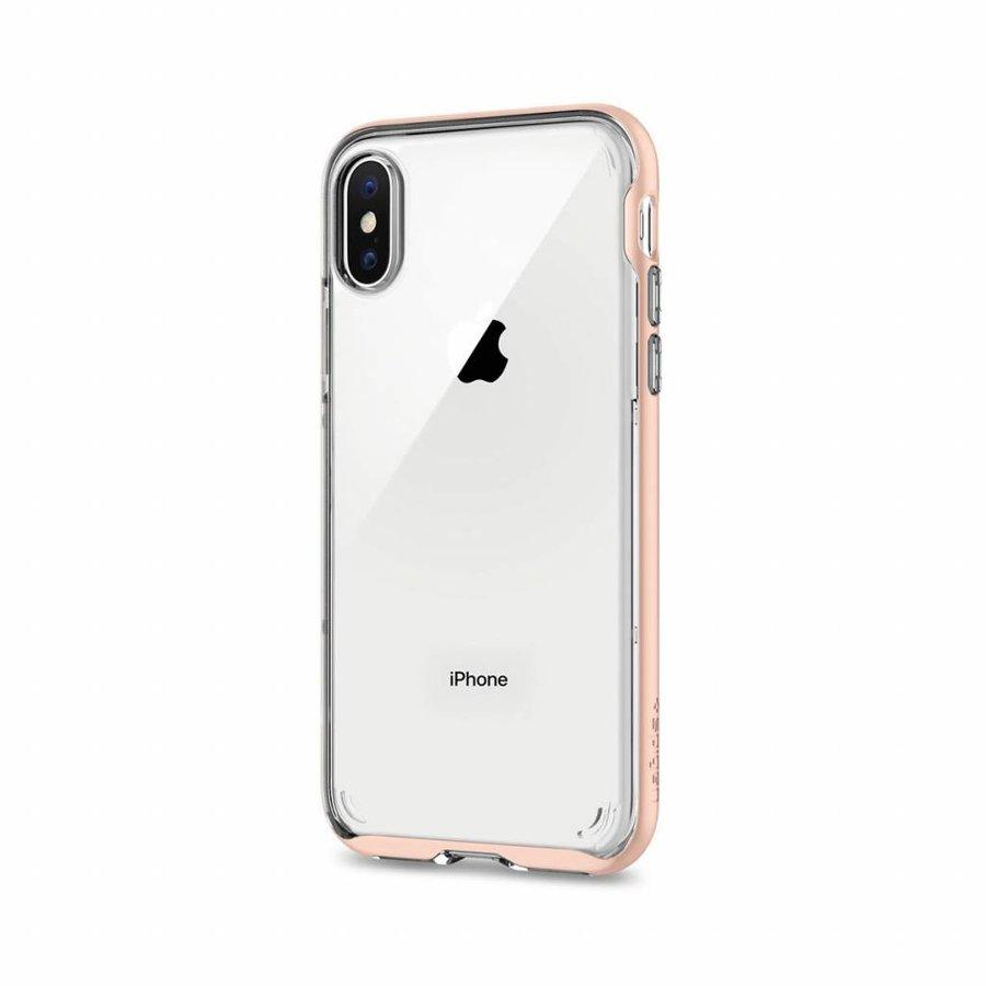 Spigen Neo Hybrid Crystal for iPhone X Rose Gold-3
