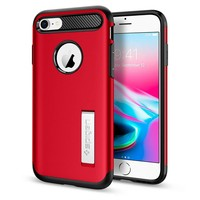 thumb-Spigen Slim Armor  for iPhone 7/8 red-1