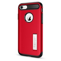 thumb-Spigen Slim Armor  for iPhone 7/8 red-3