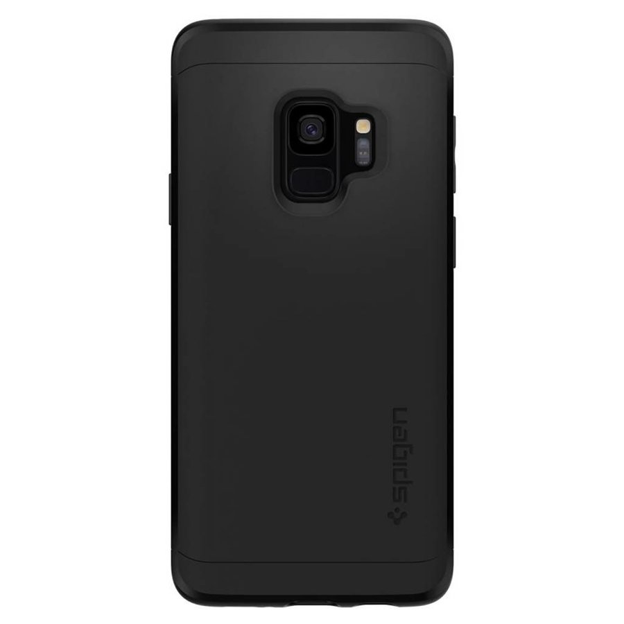 Spigen Thin Fit 360 (Glass Screen Protector) for Galaxy S9 black-2