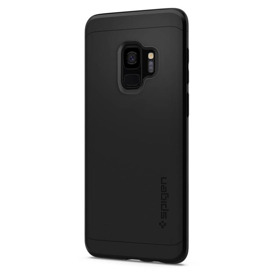 Spigen Thin Fit 360 (Glass Screen Protector) for Galaxy S9 black-3
