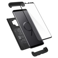 thumb-Spigen Thin Fit 360 (Glass Screen Protector) for Galaxy S9 black-5