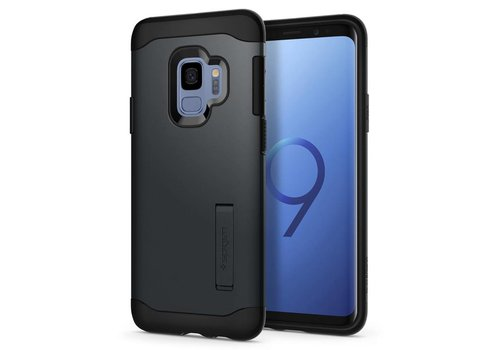 Spigen Slim Armor for Galaxy S9 metal slate