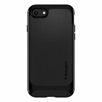 thumb-Spigen Neo Hybrid Herringbone for iPhone 7/8 shiny black-2