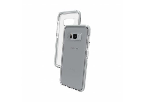 GEAR4 Piccadilly for Galaxy S8 silver colored