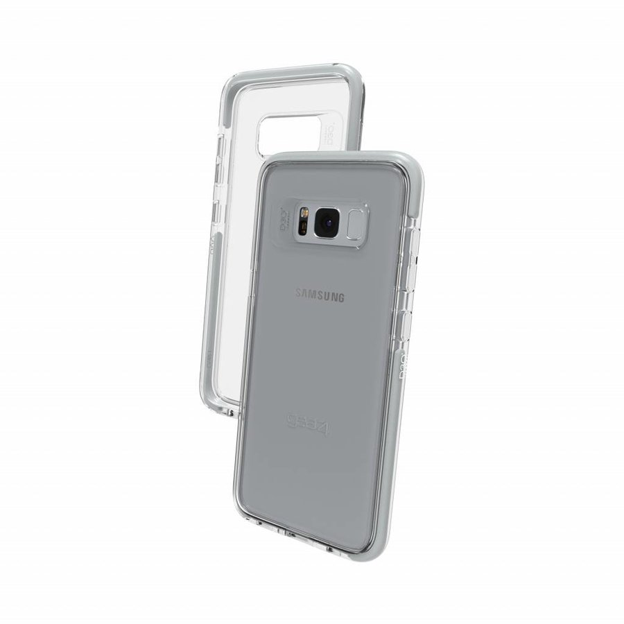 GEAR4 Piccadilly for Galaxy S8 silver colored-1