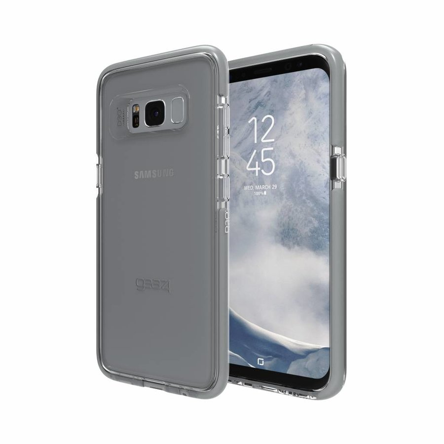 GEAR4 Piccadilly for Galaxy S8 silver colored-2