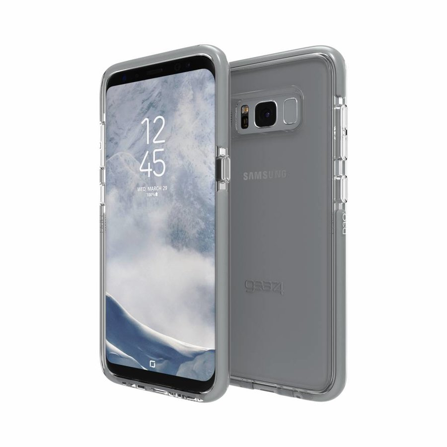 GEAR4 Piccadilly for Galaxy S8 silver colored-5