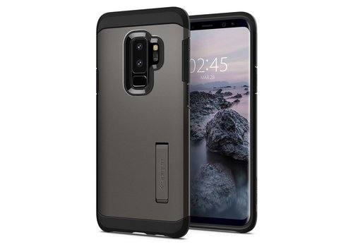 Spigen Tough Armor for Galaxy S9+ gun metal