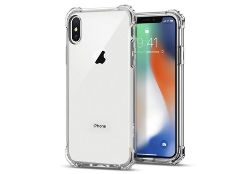 Spigen Rugged Crystal for iPhone X crystal clear