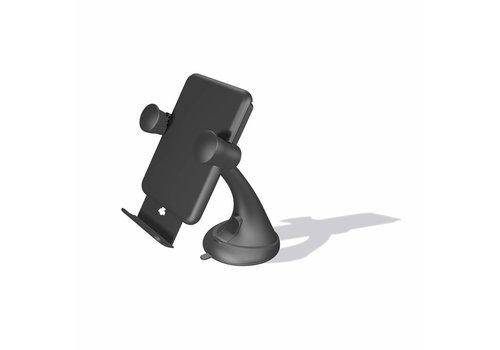 Zens Draadloze Qi-autolader zuignap 5W - Zwart