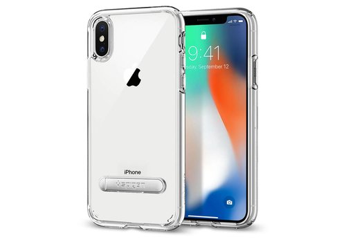 Spigen Ultra Hybrid S for iPhone X crystal clear