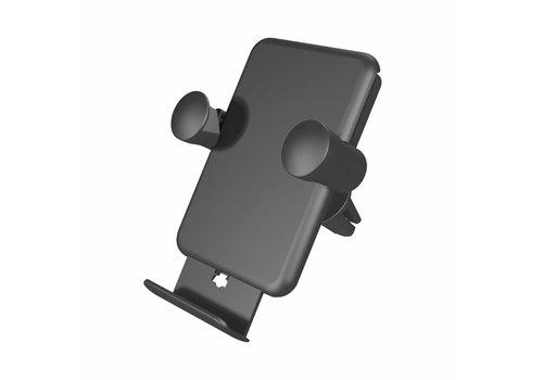 Zens Draadloze Qi-autolader ventilatierooster 5W - Zwart