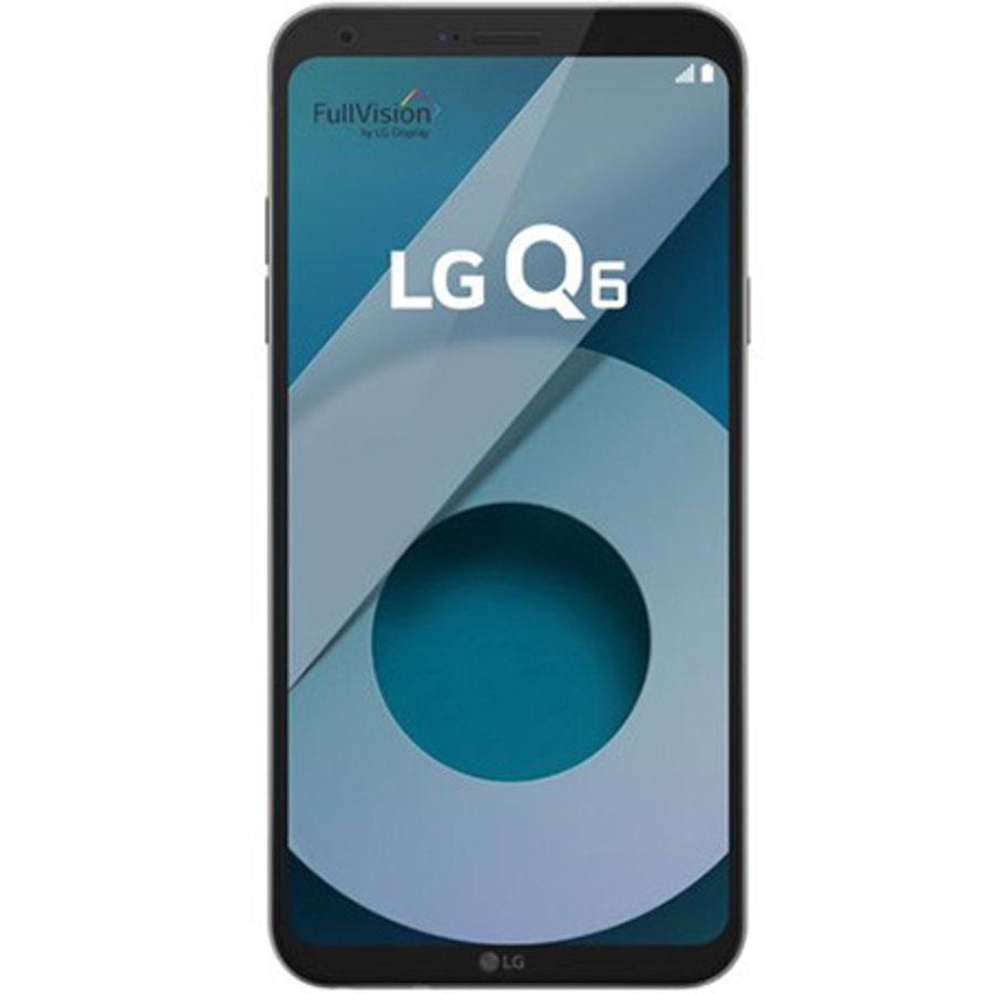 LG Q6 M700N Platinum Silver (Platinum Silver)-1
