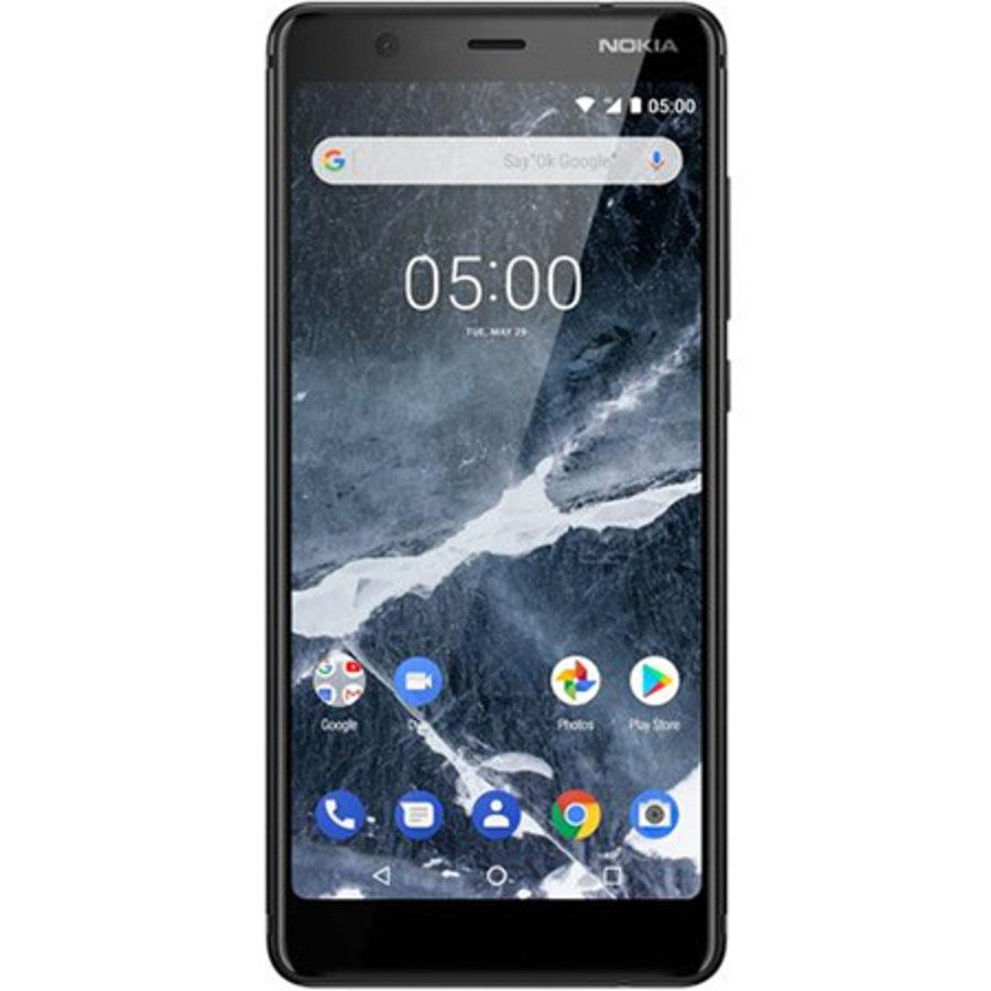 Nokia 5.1 Dual Sim Black (Black)-1