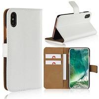 thumb-Movizy lederen walletcase iPhone X(s) - wit-2