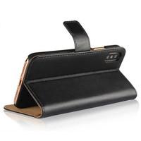 thumb-Movizy lederen walletcase iPhone X(s) - zwart-3