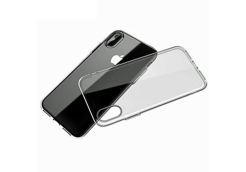 Movizy Apple iPhone X(s) siliconen cover - transparant