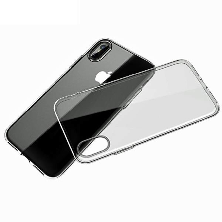Movizy Apple iPhone X(s) siliconen cover - transparant-1