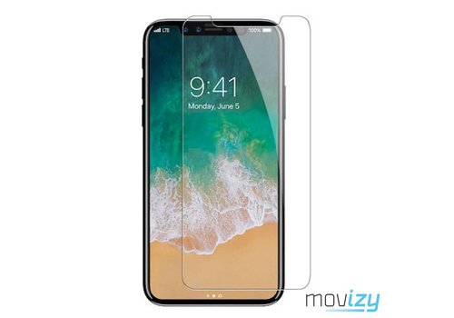 Movizy tempered glass screenprotector iPhone X(s)
