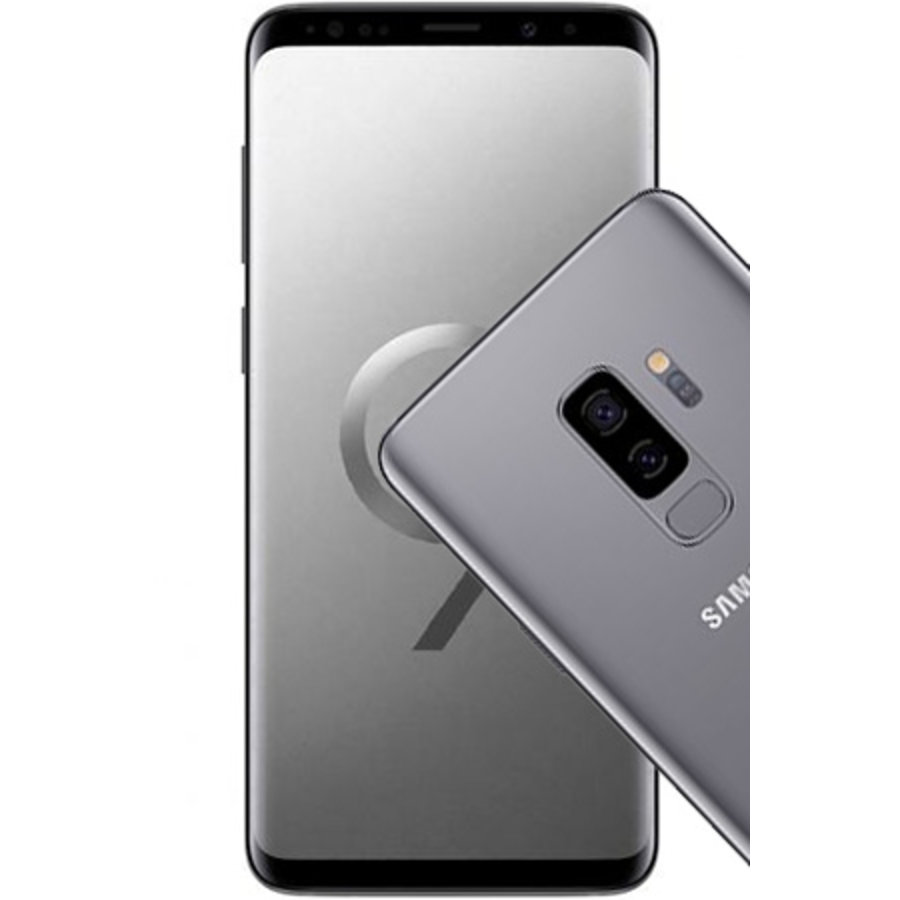 Samsung Galaxy S9+ Dual Sim G965F 256GB Titanium Gray (256GB Titanium Gray)-1