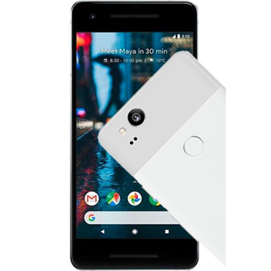 Google Pixel 2 128GB White Black (128GB White Black)-1