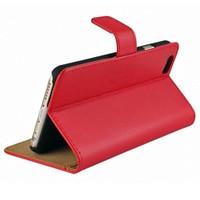 thumb-Movizy lederen walletcase iPhone SE 2020/7/8 - rood-2