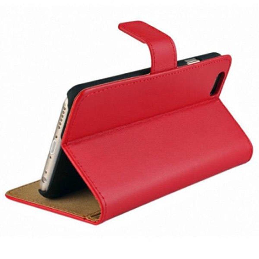 Movizy lederen walletcase iPhone SE 2020/7/8 - rood-2