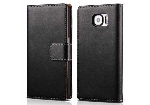 Movizy lederen walletcase Samsung Galaxy S7 - zwart