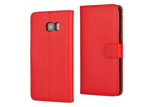 Movizy lederen walletcase Samsung Galaxy S7 - rood