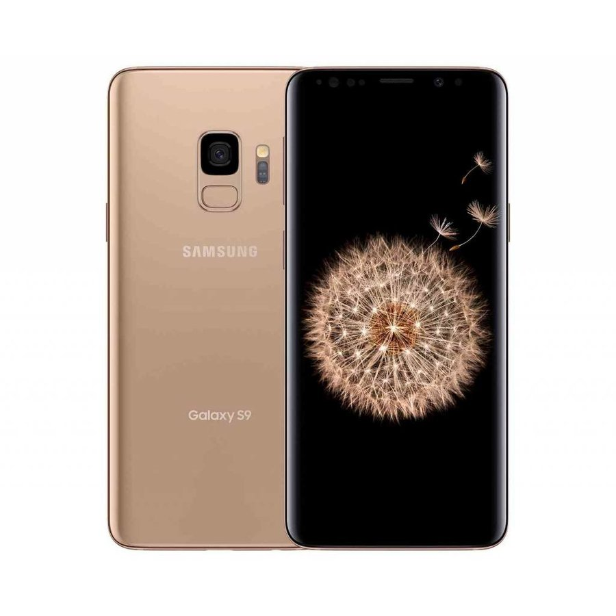 Samsung Galaxy S9 Dual Sim G960F Gold (64GB Gold)-1