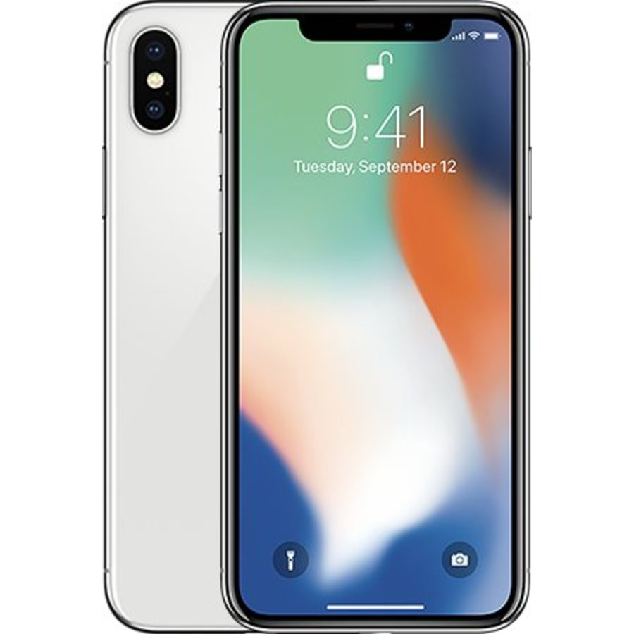Refurbished iPhone X - 64GB - Wit - A-Grade-1