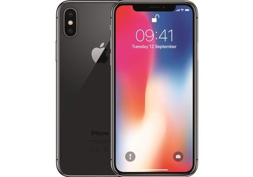 Refurbished iPhone X - 64GB - Space Grey - A-Grade
