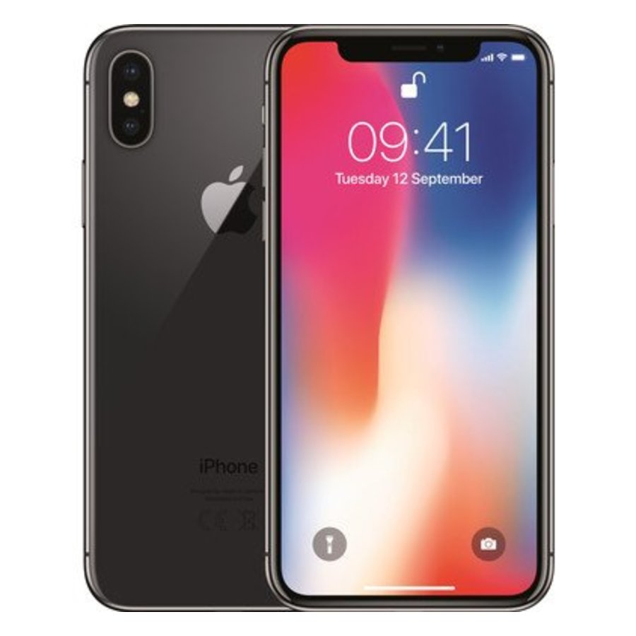 Refurbished iPhone X - 64GB - Space Grey - A-Grade-1