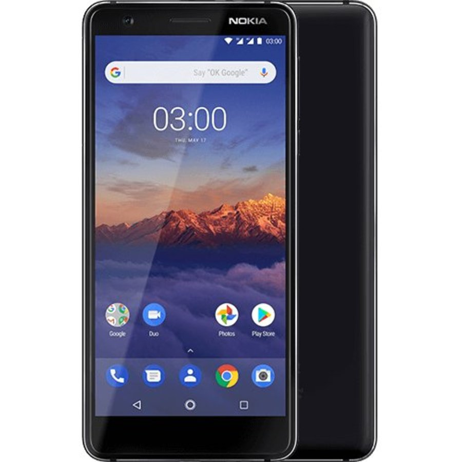 Nokia 3.1 Black (Black)-1