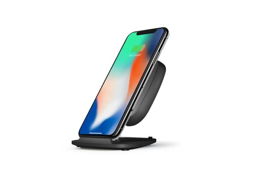Zens Fast Wireless Charger Stand / 15W Apple optim black