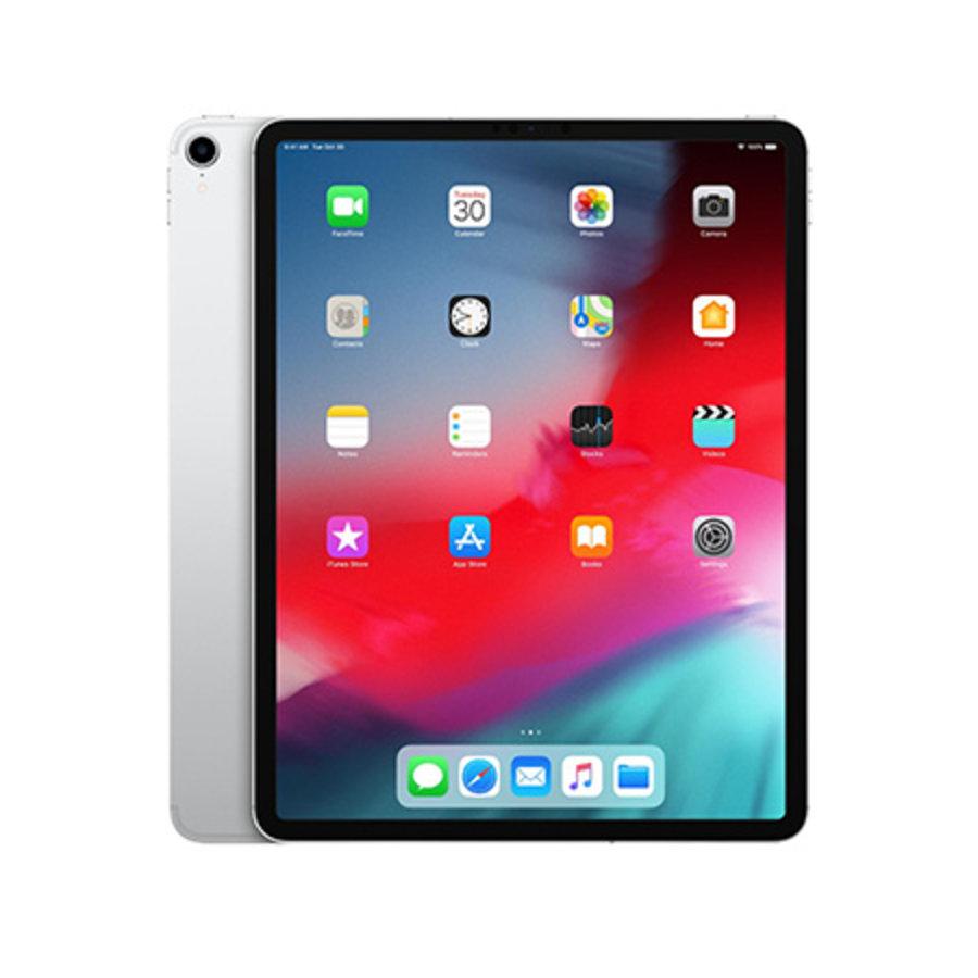Apple iPad Pro 12.9 2018 WiFi + 4G 64GB Silver (64GB Silver)-1