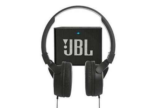 Cadeaupakket JBL - GO + T450 hoofdtelefoon