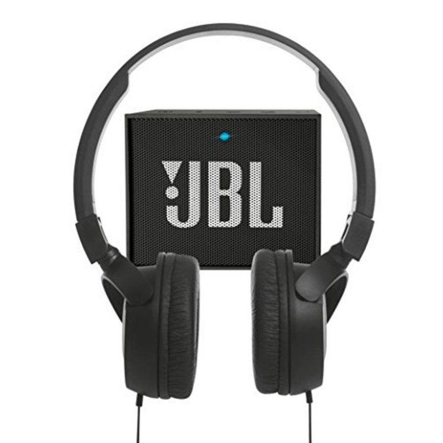 Cadeaupakket JBL - GO + T450 hoofdtelefoon-1